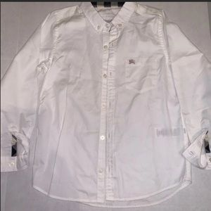 Burberry Children's Buttoned Down Shirt. 7Y